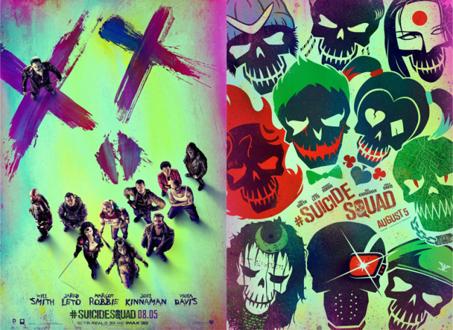 Suicide-Squad-posters